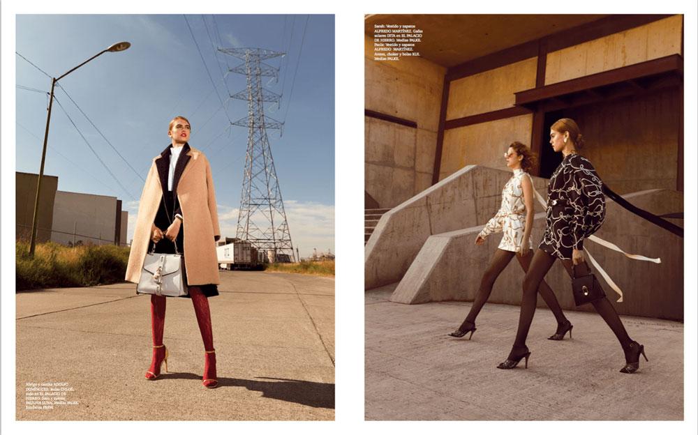 奢侈品旅行杂志摄影作品 外景时尚人像 时尚图库 第10张