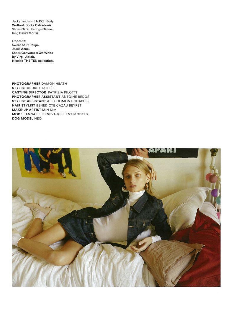 《Lula》杂志人像拍摄作品 时尚图库 第3张