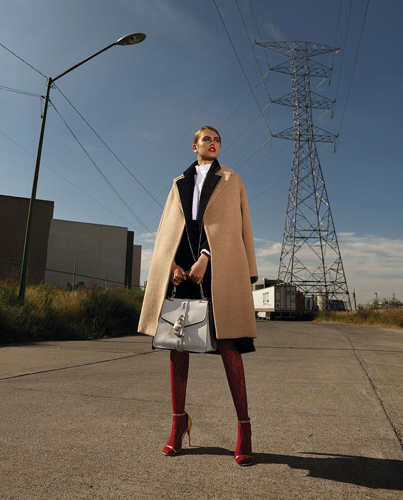 奢侈品旅行杂志摄影作品 外景时尚人像 时尚图库 第11张