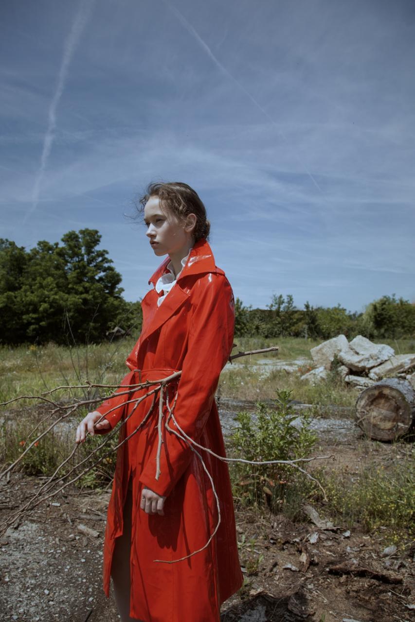 《Flanelle》杂志人像 摄影师Lucía Arabian 第二弹 时尚图库 第5张