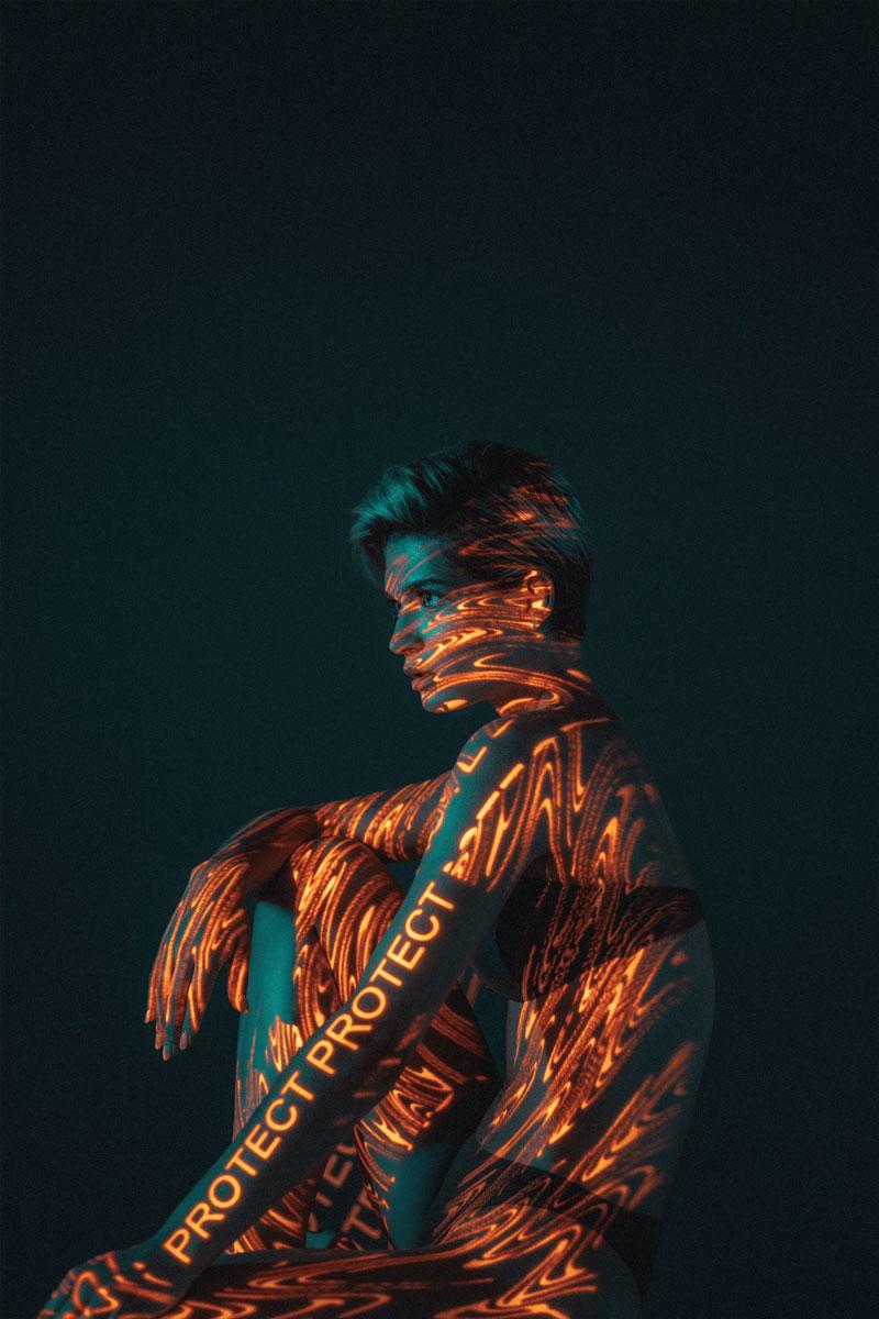 酷炫的创意人像摄影 ATZEN Skin Care // 19TONES 时尚图库 第9张