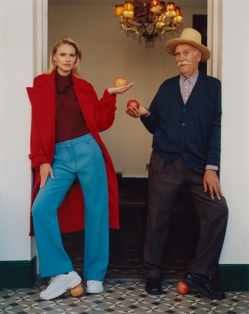 英国《ELLE》杂志8月刊 时尚人像作品 时尚图库 第6张