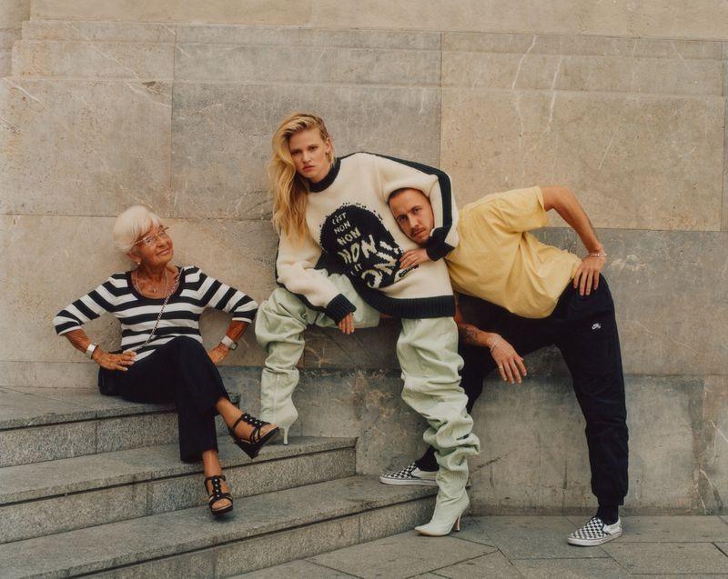 英国《ELLE》杂志8月刊 时尚人像作品 时尚图库 第7张