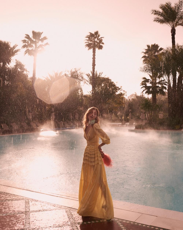 《Gala》杂志时尚人像 模特Caroline Lossberg. 时尚图库 第8张
