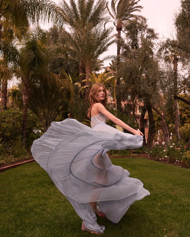 《Gala》杂志时尚人像 模特Caroline Lossberg. 时尚图库 第4张