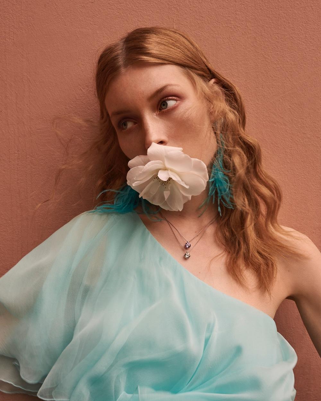 《Gala》杂志时尚人像 模特Caroline Lossberg. 时尚图库 第1张