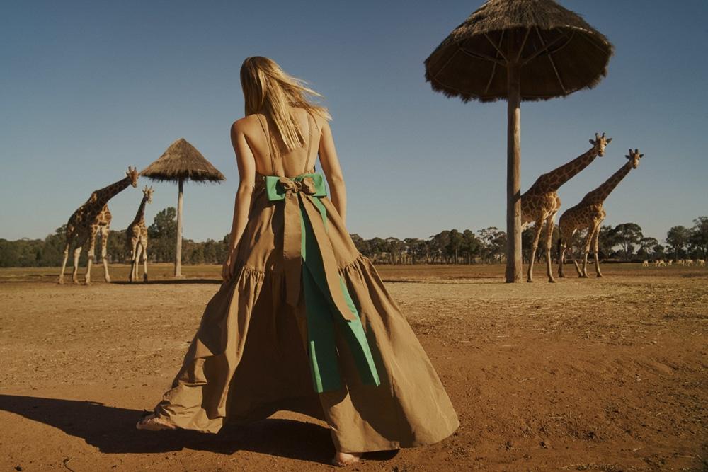 澳大利亚版《时尚芭莎》外景人像大片 时尚图库 第2张