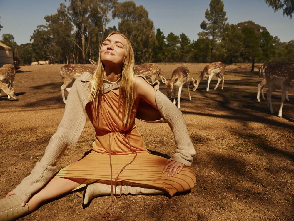 澳大利亚版《时尚芭莎》外景人像大片 时尚图库 第3张