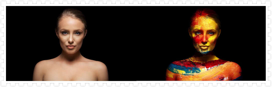 利用PS为裸体美女添加人体彩绘效果 收集整理 第1张