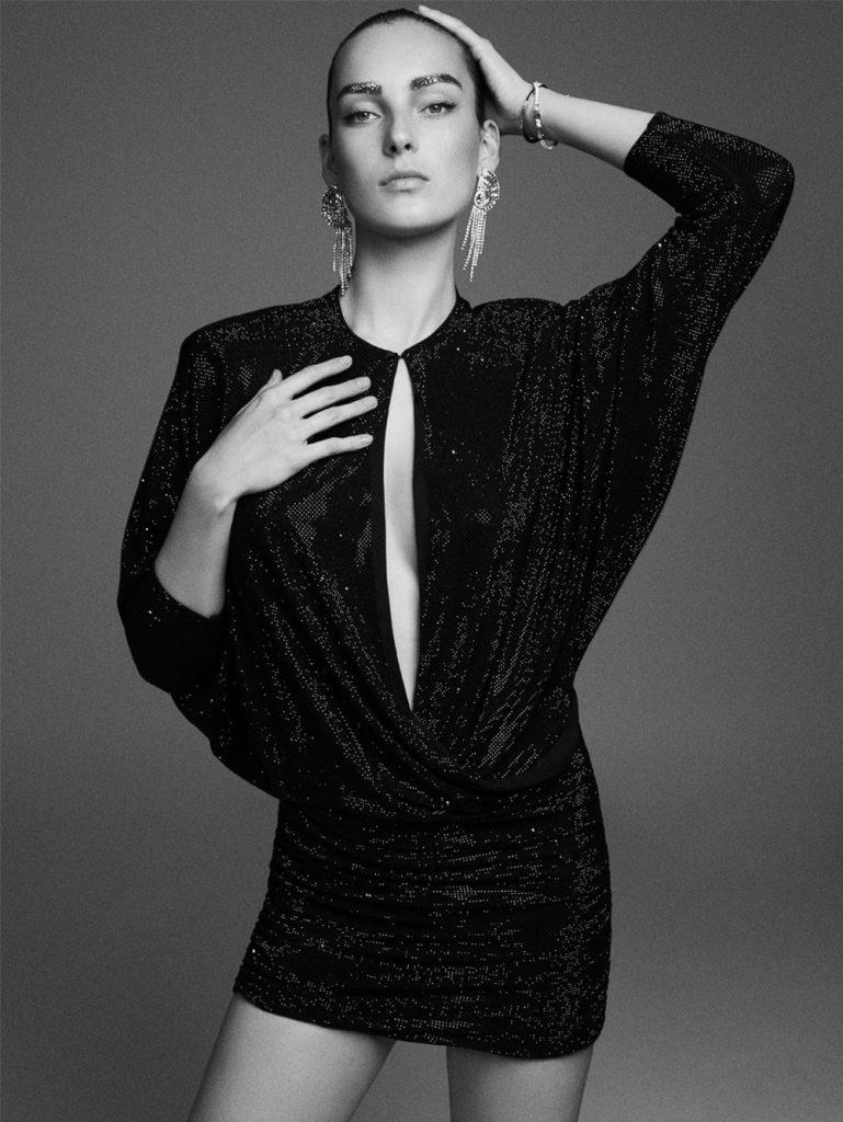 《Vogue》西班牙版2018年12月刊 棚拍人像作品 审美灵感 第4张