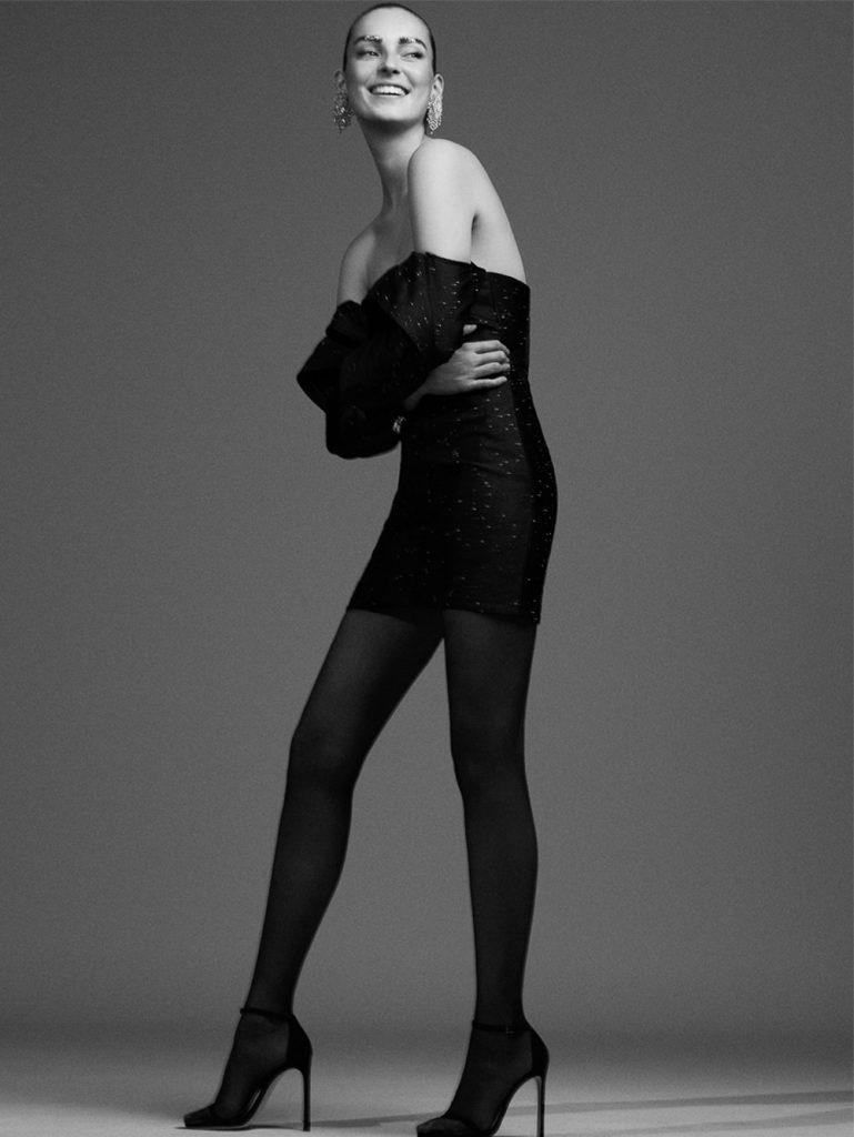 《Vogue》西班牙版2018年12月刊 棚拍人像作品 审美灵感 第2张