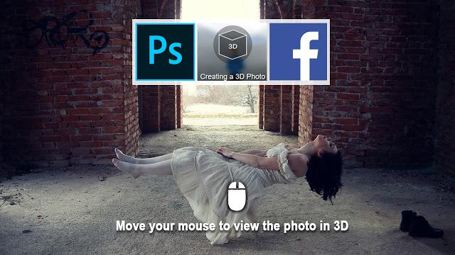 rafy a PS后期合成视频 利用facebook制造3D视角 收集整理 第1张