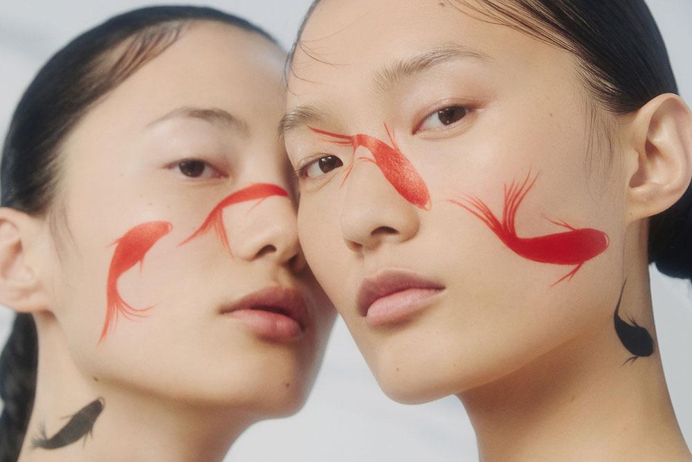 摄影师李若冰一组《时尚芭莎Harper′s Bazaar》妆容大片 时尚图库 第7张
