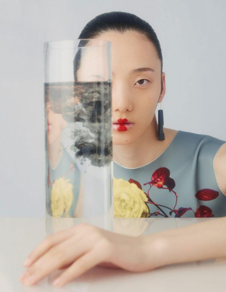 摄影师李若冰一组《时尚芭莎Harper′s Bazaar》妆容大片 时尚图库 第2张