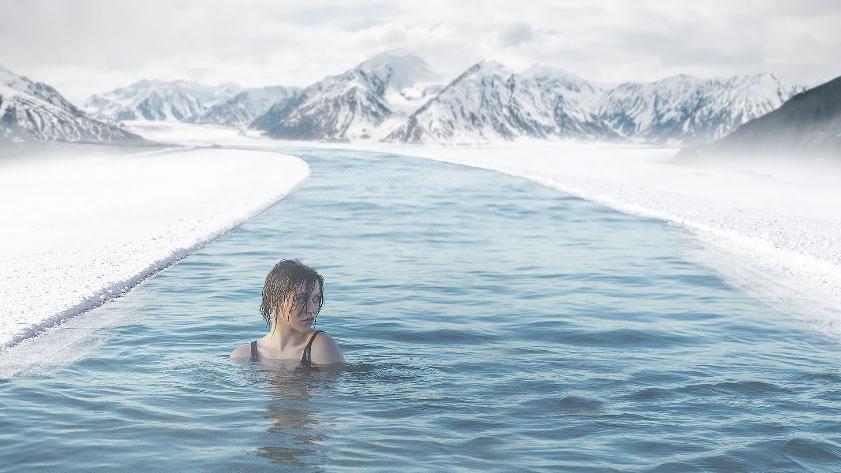 nemanja sekulic后期合成视频案例 美丽冻人的冬泳 收集整理 第1张