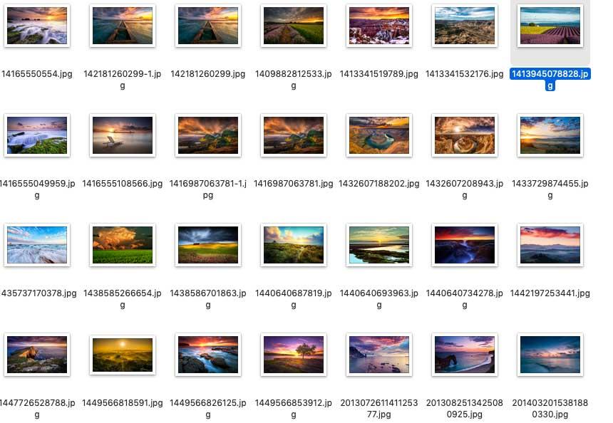 一组天空渲染的图片素材,尺寸为1980X1200小高清 图片素材 第5张