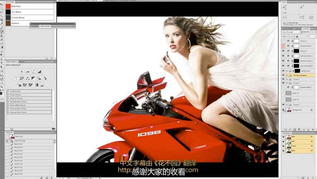广告级商业人像摄影后期精修教程 中文字幕 收集整理 第1张