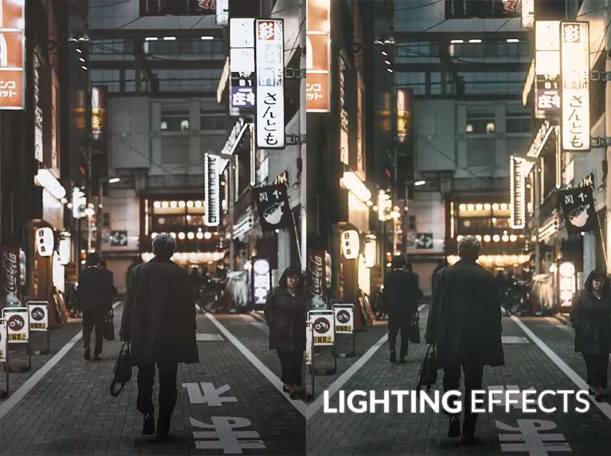 phlearn PS后期视频 人为制造暖色调灯光效果 收集整理 第1张