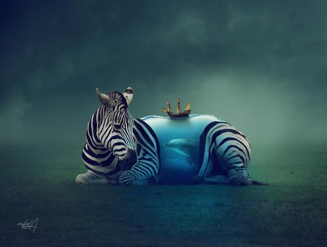 rafy a photoshop后期合成视频 超现实动物 收集整理 第1张