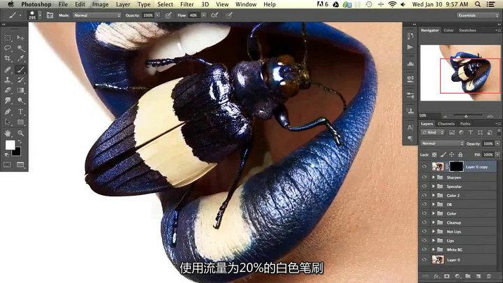 Photoshop商业时尚质感与色彩处理后期教程【中文字幕】 收集整理 第5张