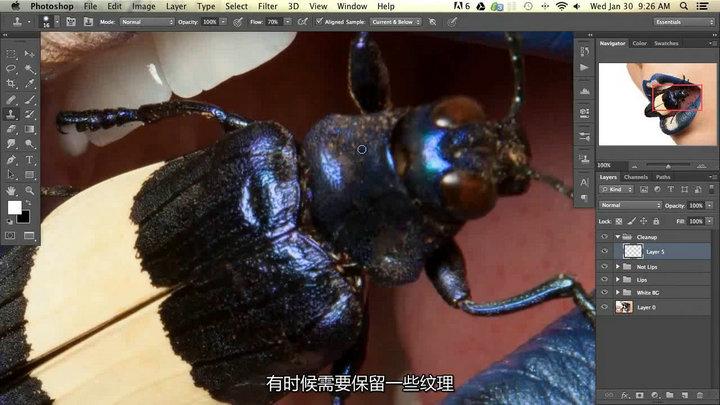 Photoshop商业时尚质感与色彩处理后期教程【中文字幕】 收集整理 第3张