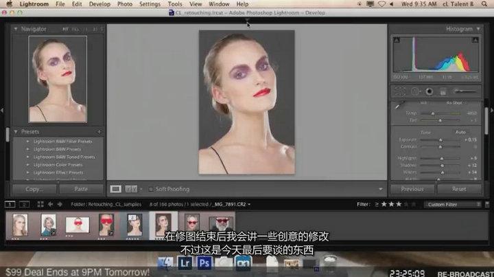 琳西 Photoshop商业人像后期修图调色教程【中文字幕】 收集整理 第3张