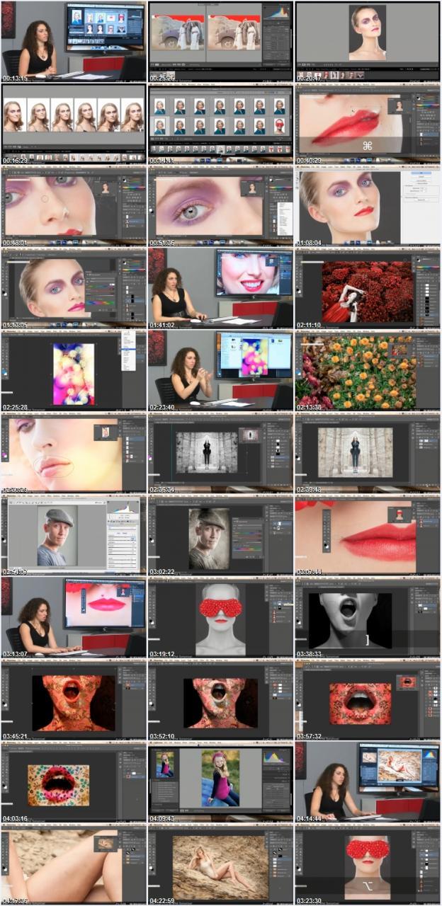 琳西 Photoshop商业人像后期修图调色教程【中文字幕】 收集整理 第14张