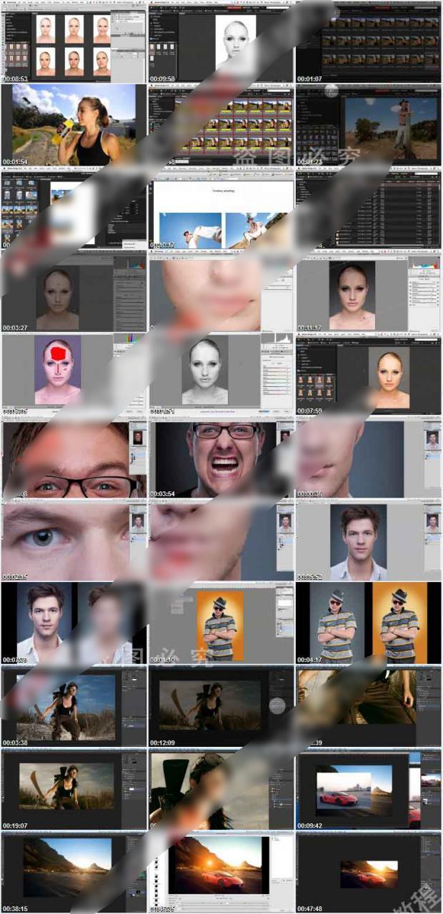 photoshop摄影后期综合人像修图调色教程 收集整理 第2张