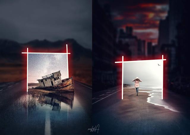 rafy a 后期合成视频 光门户图片处理Photoshop教程 收集整理 第1张