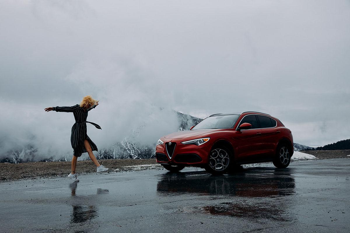 摄影师Dave Hill摄影作品Alfa Romeo Stelvio 审美灵感 第1张