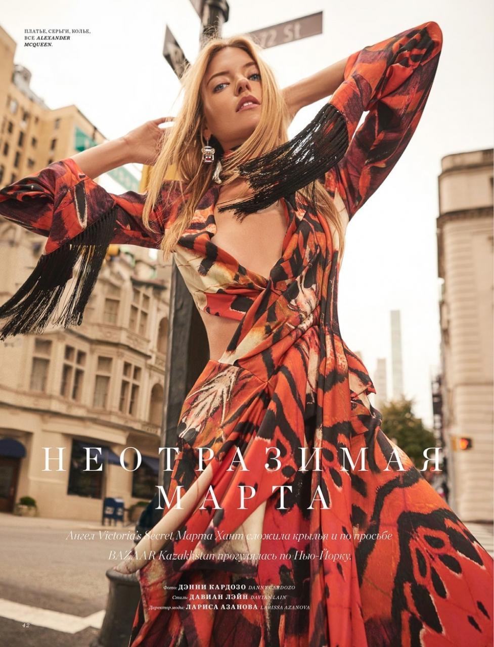 街头拍摄 哈萨克斯坦《Harper's Bazaar》11月刊 时尚图库 第1张