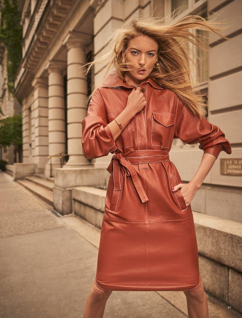街头拍摄 哈萨克斯坦《Harper's Bazaar》11月刊 时尚图库 第7张