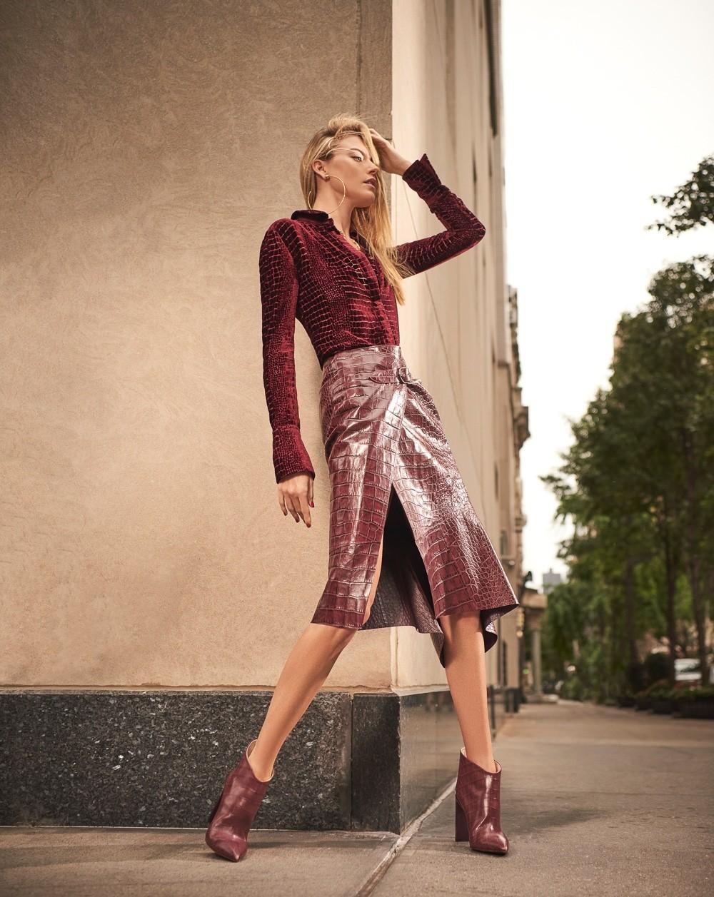 街头拍摄 哈萨克斯坦《Harper's Bazaar》11月刊 时尚图库 第5张