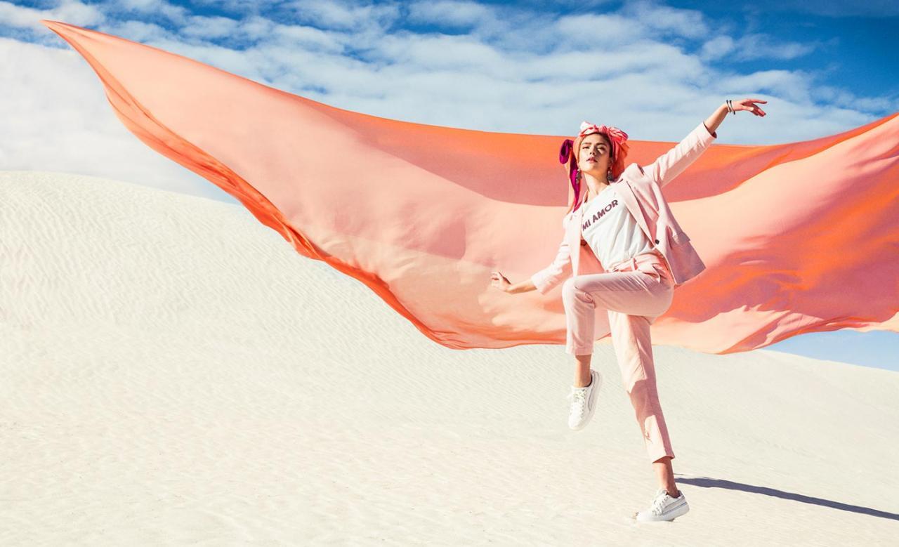 Elizaveta Porodina 摄影作品 The White Sands 服装色彩搭配 时尚图库 第4张