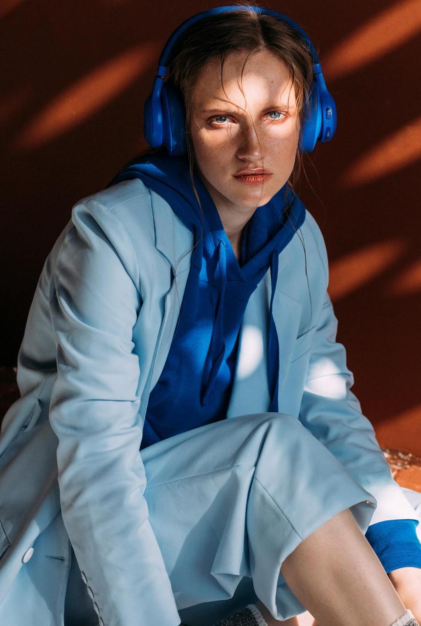 marta syrko 蓝色主题人像摄影作品 审美灵感 第10张