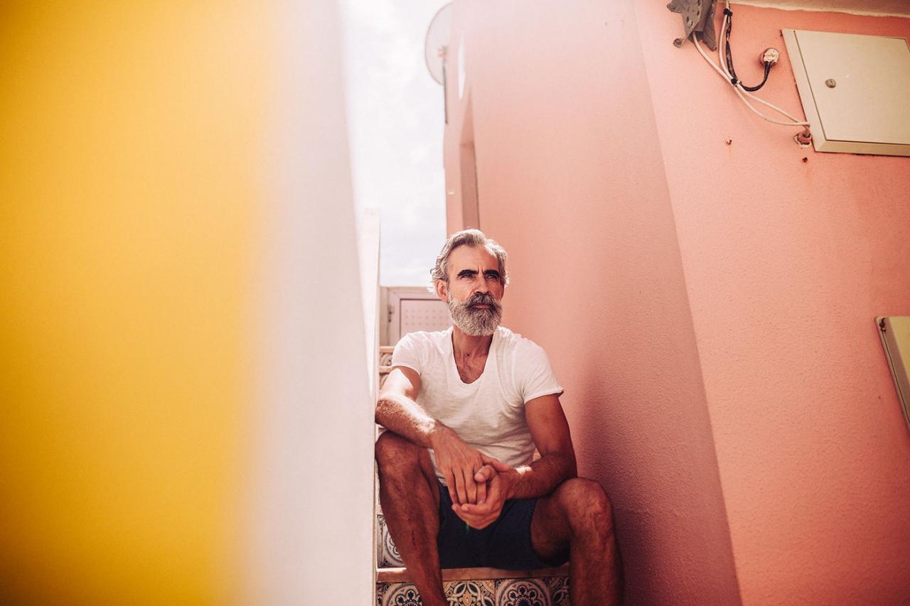 德国摄影师André Josselin 镜头下的运动老人 时尚图库 第2张