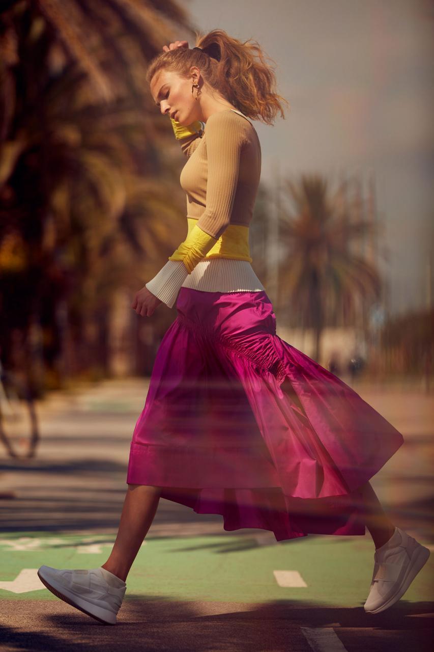 德国版《myself》8月刊时尚大片,超模Ymre Stiekema出镜 审美灵感 第4张