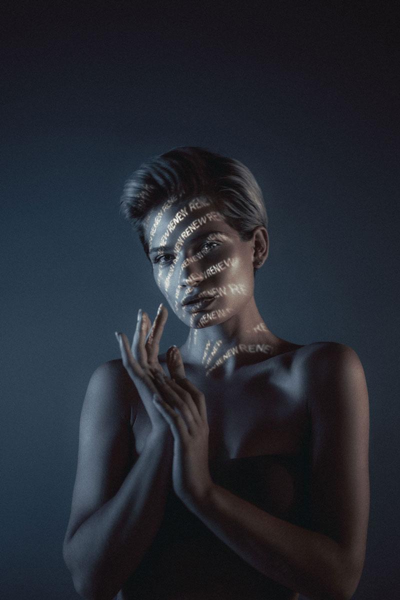 酷炫的创意人像摄影 ATZEN Skin Care // 19TONES 时尚图库 第2张
