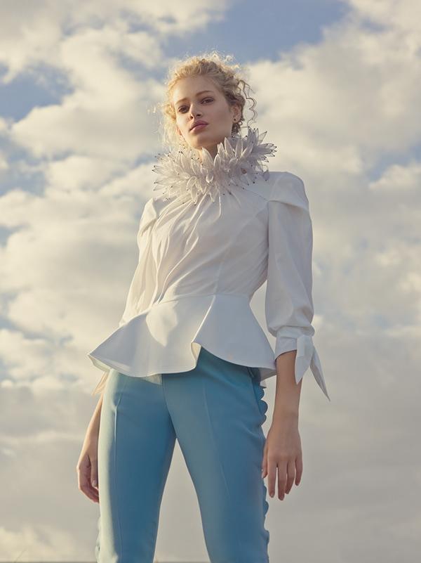 Elena Iv-skaya 人像摄影作品 L'AIR DU TEMPS 时尚图库 第2张