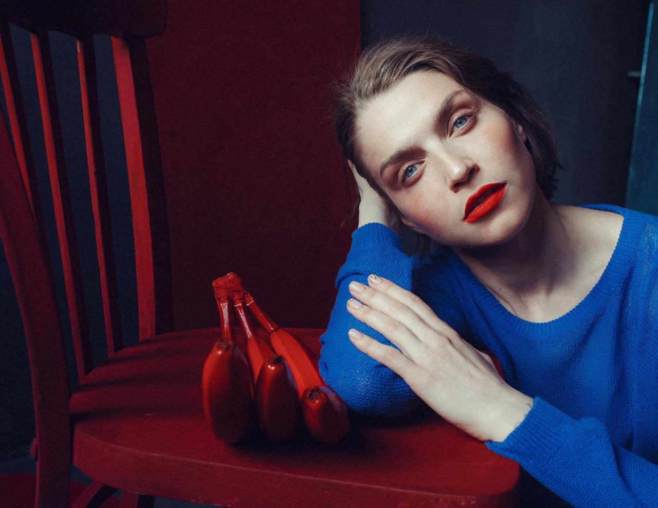 乌克兰摄影是marta syrko 色彩人像作品 for Sasha 时尚图库 第11张