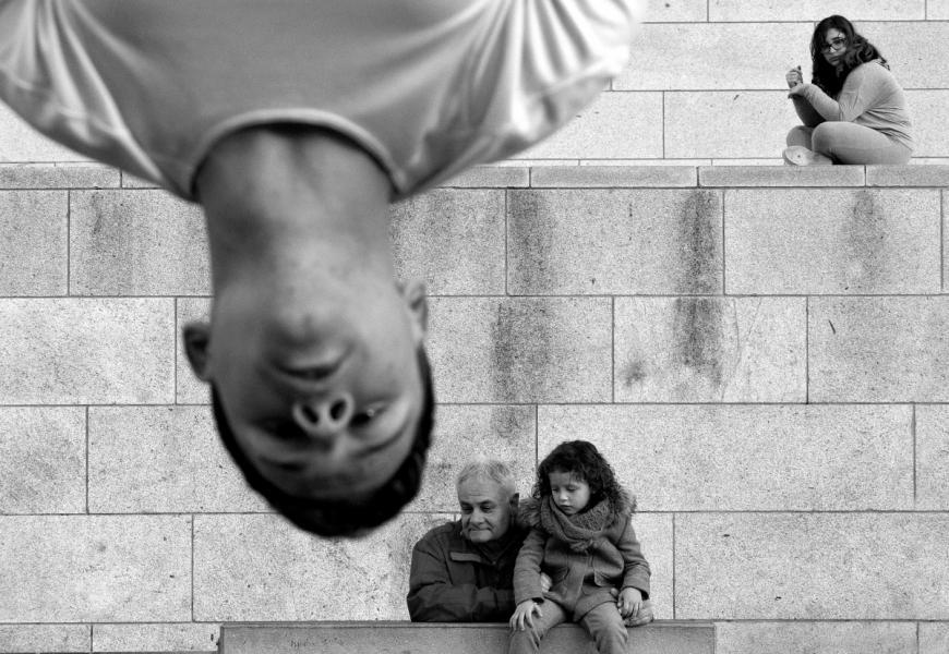【街头】精彩的镜头瞬间定格照 街头摄影师Antonio E. Ojeda作品 审美灵感 第27张