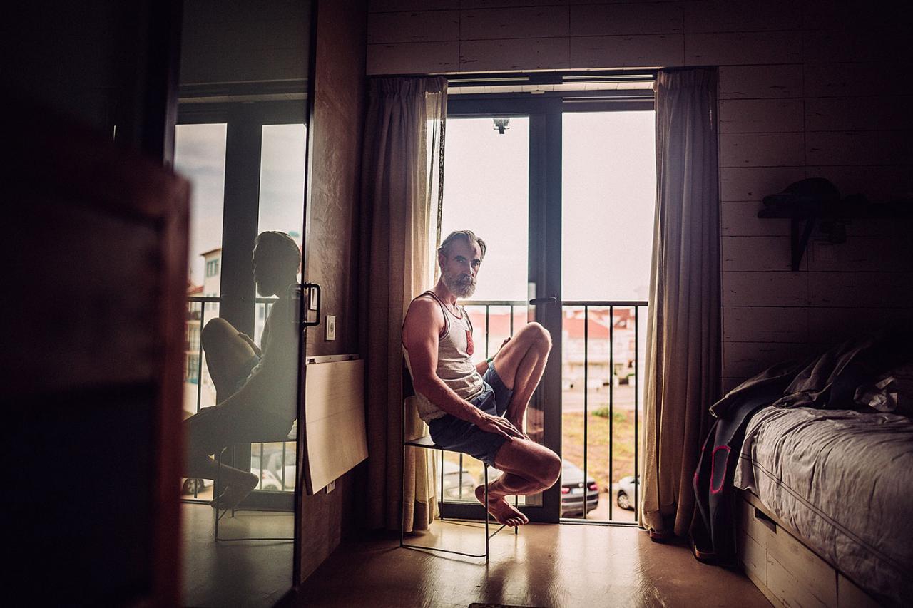 德国摄影师André Josselin 镜头下的运动老人 时尚图库 第15张