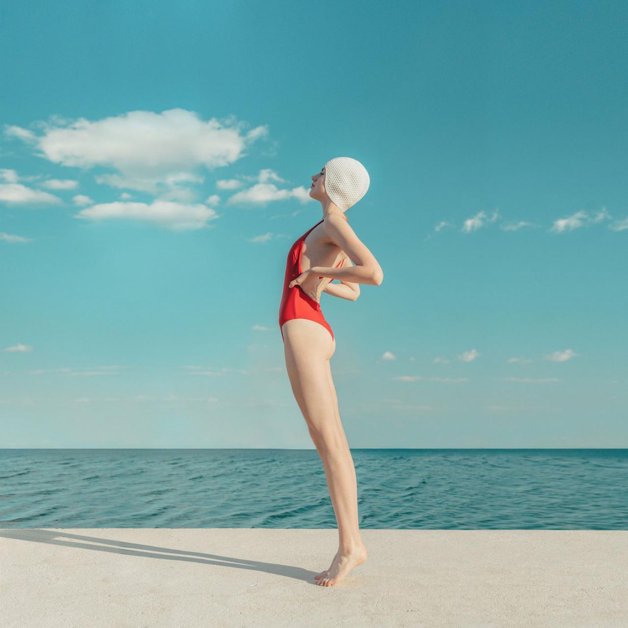 Eszter Sarah 人像摄影作品 Swimmers(配色很棒) 时尚图库 第11张