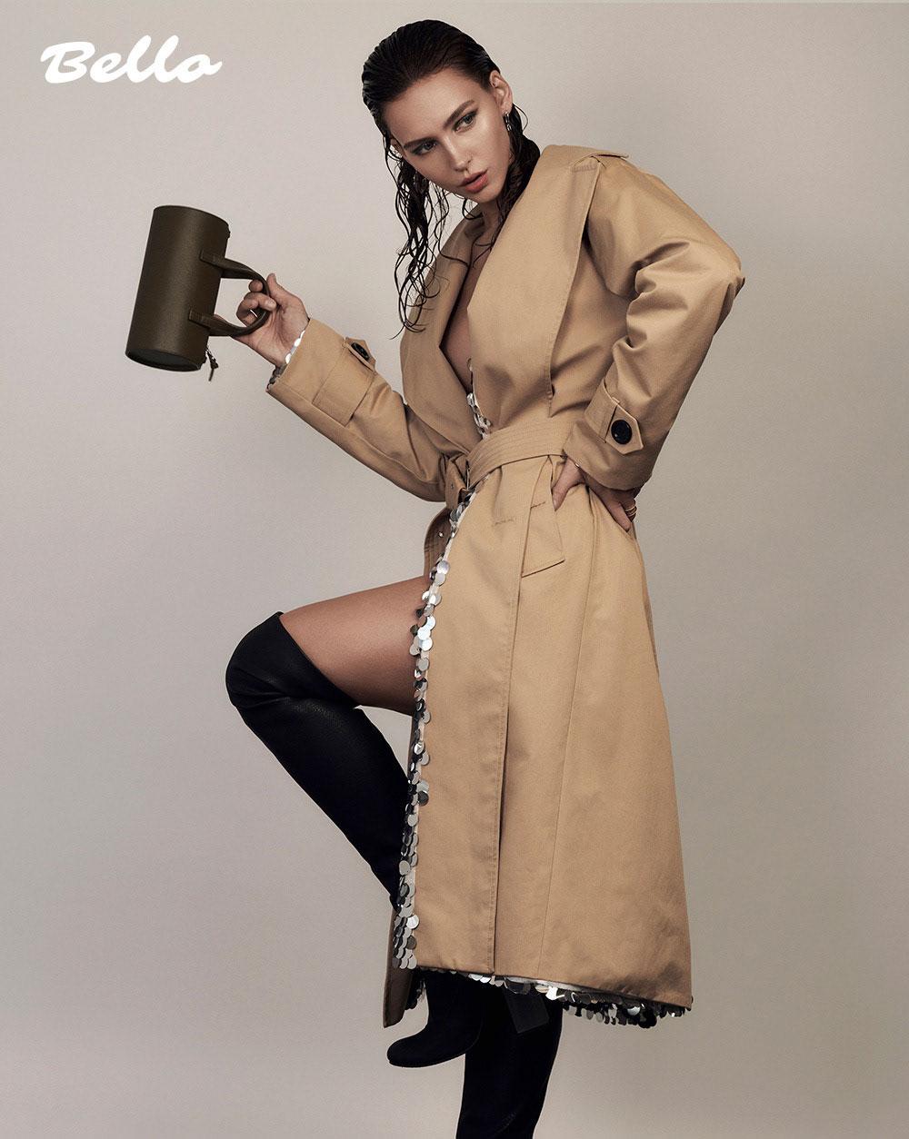 美国摄影师Alena Saz 摄影作品 【bello】杂志人像 时尚图库 第9张