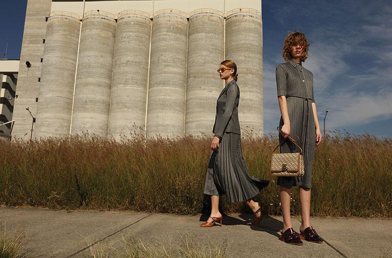 奢侈品旅行杂志摄影作品 外景时尚人像 时尚图库 第8张