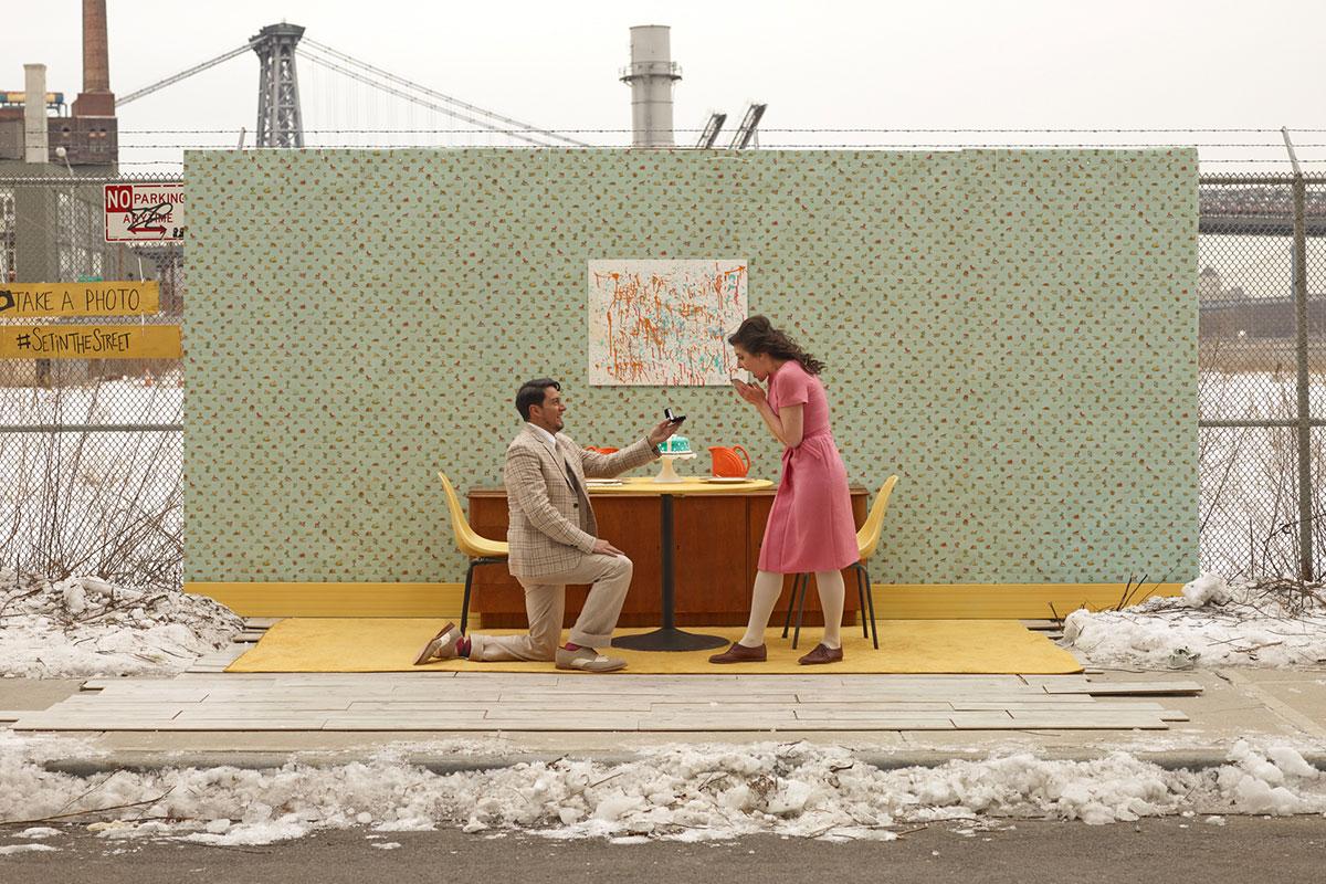 摄影师Justin Bettman 创意摄影作品 SetintheStreet街头实景搭建拍摄 时尚图库 第21张