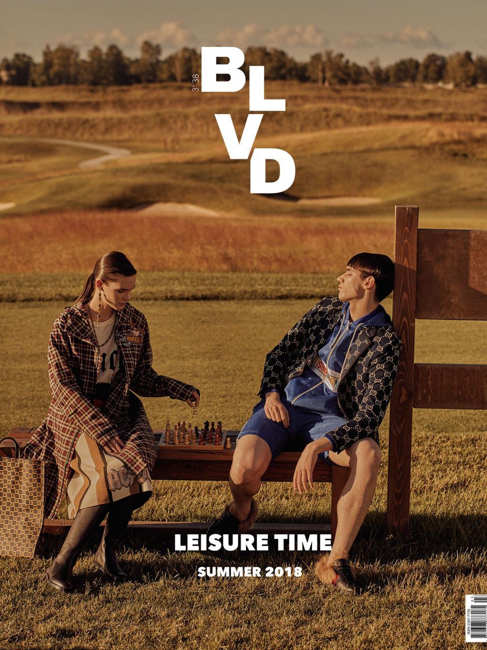 《BLVD》时尚杂志 2018年夏 摄影作品 时尚图库 第11张