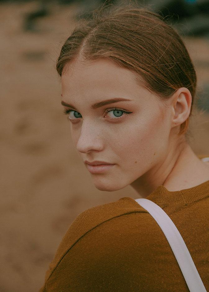摄影师 Monika Ottehenning 人像作品 【Tess】 时尚图库 第8张