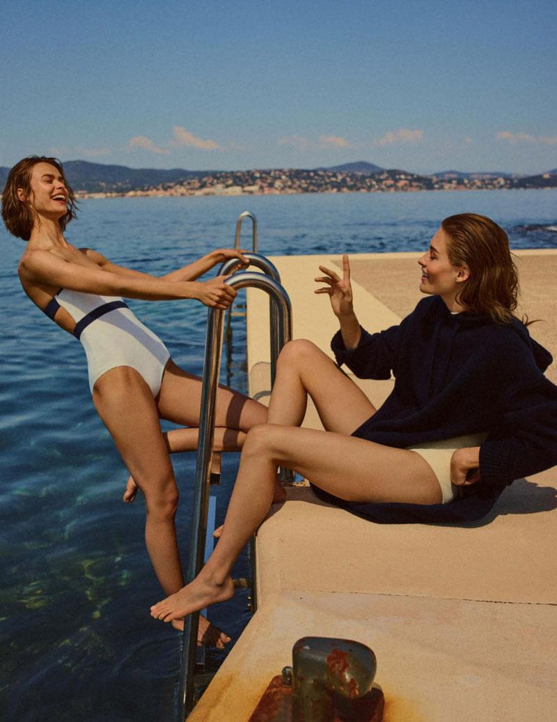 Vogue UK July 2017 英国版七月份杂志摄影作品 审美灵感 第1张
