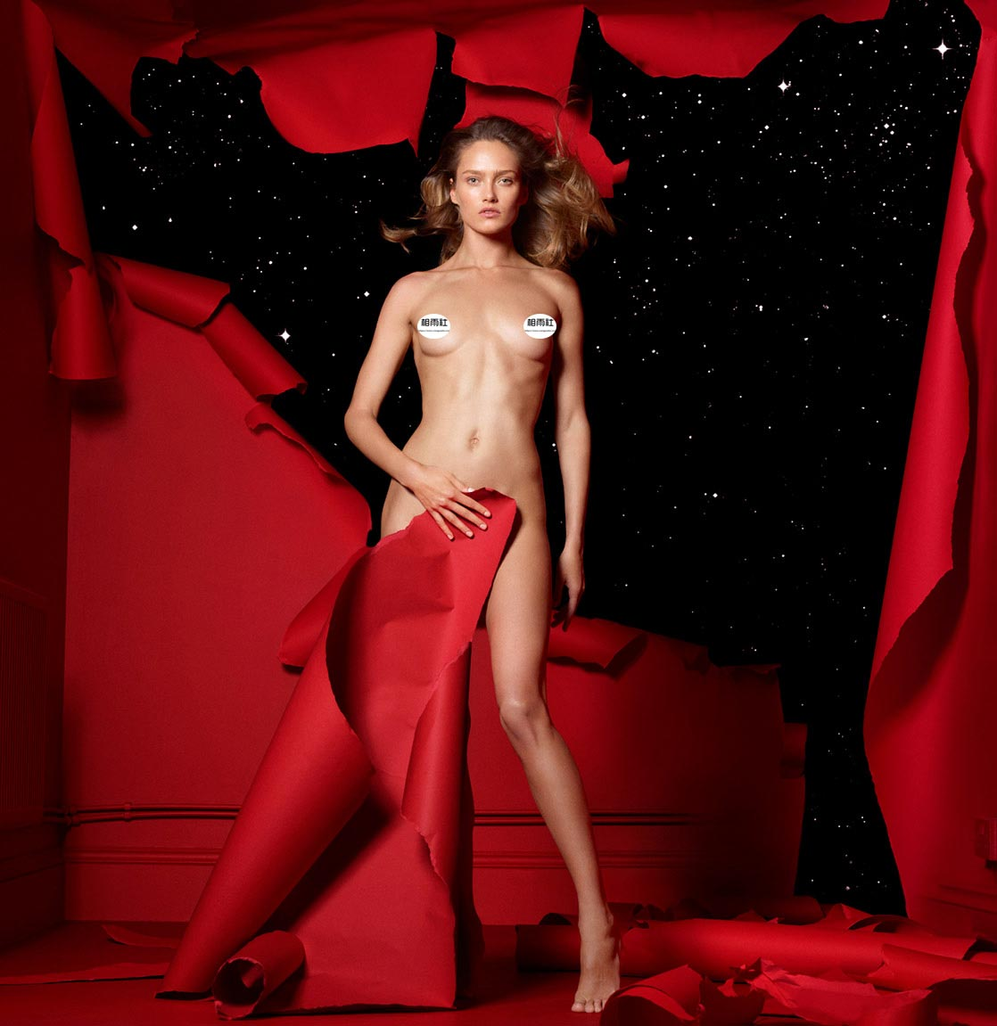 Antidote 杂志 red room的超现实主义大片 时尚图库 第11张